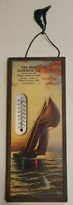 Vintage-Advertising-Thermometer-Erie-Clothing-Co-Chicago-IL-Four-Digit-Phone