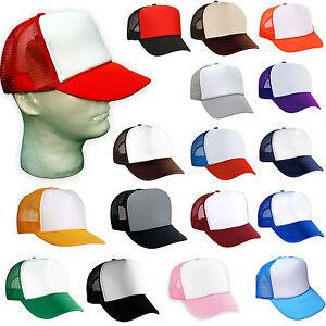 0b937150279 100 NEW TRUCKER HATS WHOLESALE BULK LOT Adjustable SNAPBACK HAT CAP ...