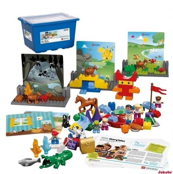 LEGO® DUPLO education StoryTales Set Bildkarten´ + 3-6 J 109 tlg. 5005