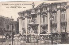 CPA ITALIE ITALY ITALIA MESSINA prima del disastro dic. 1908 piazza del duomo