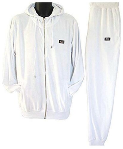 star hip hop mens tracksuit fit white hoody Time is money velour jogging set