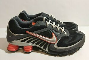 classic fit ddd01 6b4a6 Details about Nike Shox Turbo 8 - Black / Grey - Orange - 344951 008 Size 13