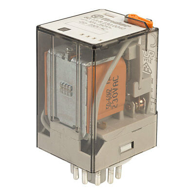 3-pole Control Relay 60.13.8.230.0040 Finder 230VAC 3PDT 601382300040