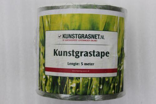 Kunstgrasnet kunstgrastape pour coller Longueur 5 m largeur 12 cm NEUF A