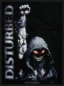 DISTURBED-Patch-Aufnaeher-Reaper-fist-7x10cm