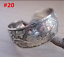 Women-925-Sterling-Solid-Silver-Bangle-Chain-Crystal-Cuff-Bracelet-Charm-Jewelry thumbnail 32