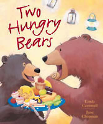 1 of 1 - Two Hungry Bears by Linda Cornwell (paperback, 2005)