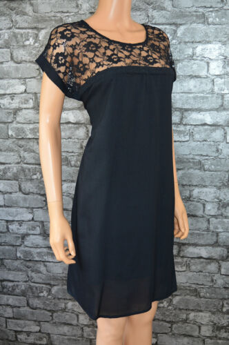 Women/'s Ligtweight Summer Lace Loose Fit Tunic Beach Dress Size