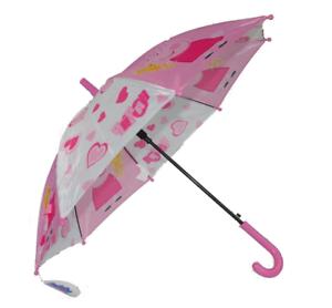 PEPPA Pig Ombrello Pioggia per Bambini Ragazzi Ragazze Childrens Pug BTTN PUSH di alta qualità