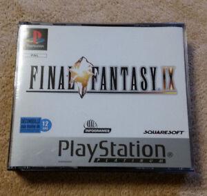 final-fantasy-9-PS1-complet-Fr-integral-le-tout-en-etat-neuf