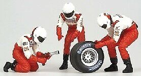 Pit Stop Toyota Toyota Toyota 2002 Rear Changing Tires 1 43 Model MINICHAMPS eff362
