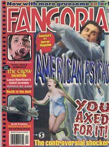 2000 Fangoria Horror # 191 American Psycho The Crow Godzilla 2000 Scream3 XFiles - Wien, Österreich - 2000 Fangoria Horror # 191 American Psycho The Crow Godzilla 2000 Scream3 XFiles - Wien, Österreich