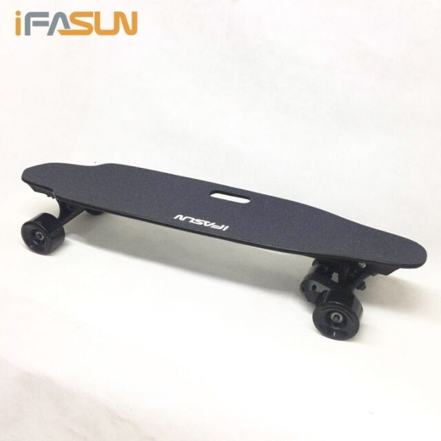 iFasun Electric Skateboard 38 inch, Remote + App, 28MPH 1000W x 2 dual  Motor 004