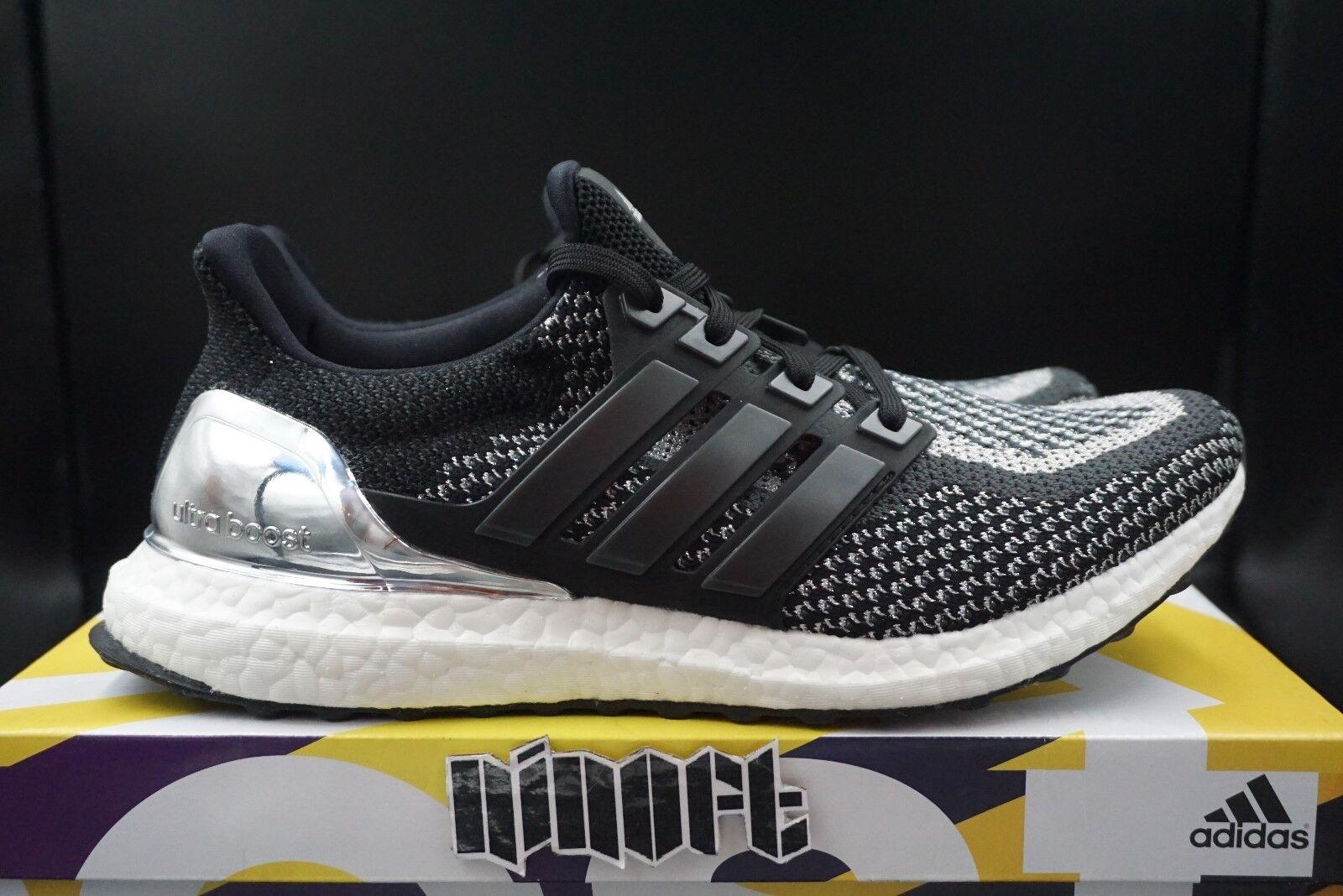 Adidas Homme Boost médaille d'argent Noir Blanc BB4077 Ultra