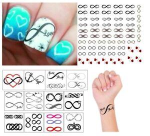 Infinity Collection Temporary Tattoos Tattoo Nail Art Ebay