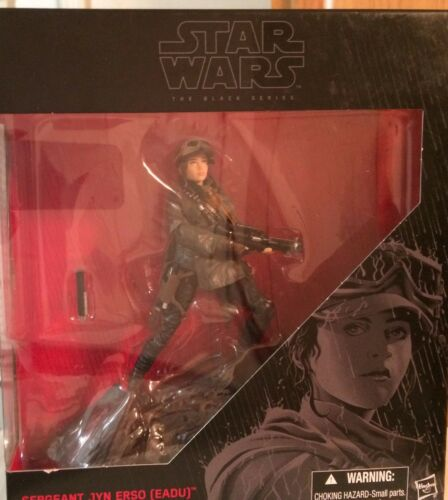 Figure Star Wars Black Series Rogue un sergent United erso 6 in environ 15.24 cm