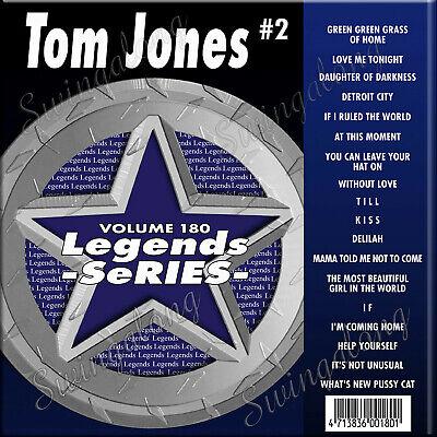 Karaoke Entertainment Generous Karaoke Cd+g Legend Series 18 Tracks Tom Jones #2 Vol-180 New In Vinyl W/print Superior Performance