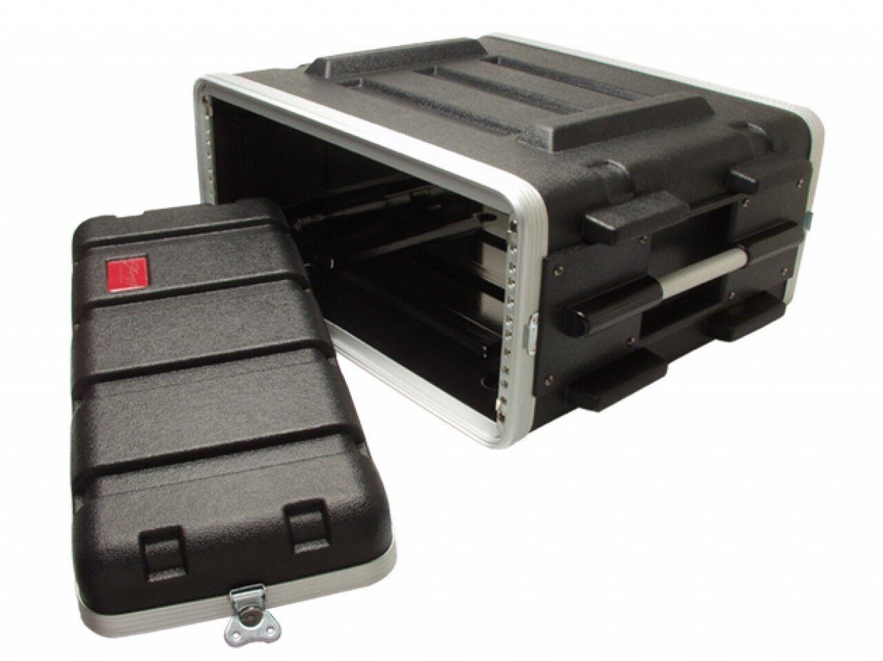 4HE 19  Kunststoffrack Kunststoffcase Hartschalenrack Effektrack  ABS Case