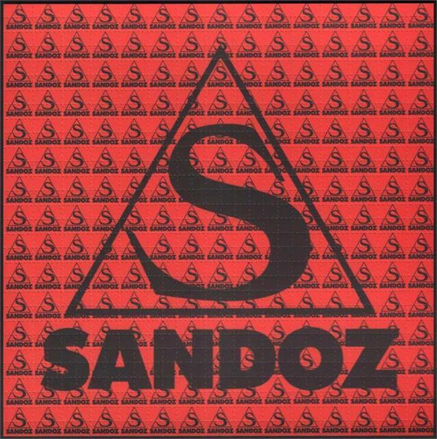 Sandoz Red Blotter Art