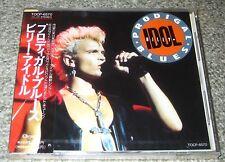Still sealed! BILLY IDOL Japan PROMO issue 5 track CD obi PRODIGAL Generation X