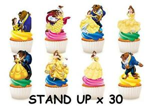 beauty and the beast cake topper 30 and the beast stand up cupcake cake 1622