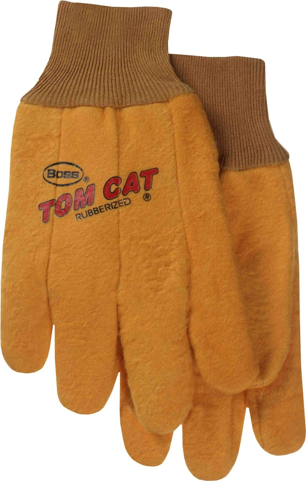 Boss Gloves 341B Tom Cat Yellow Women's General Purpose Gloves Small