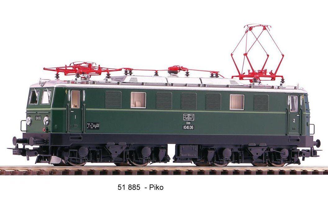 PIKO 51885 51885 51885 -- E-Lok RH 1041 ÖBB di corrente alternata Versione-Nuovo OVP a46bd8