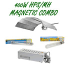400W MAGNETIC BALLAST & HPS/MH LAMP WITH BATWING REFLECTOR LIGHT COMBO GROW TENT