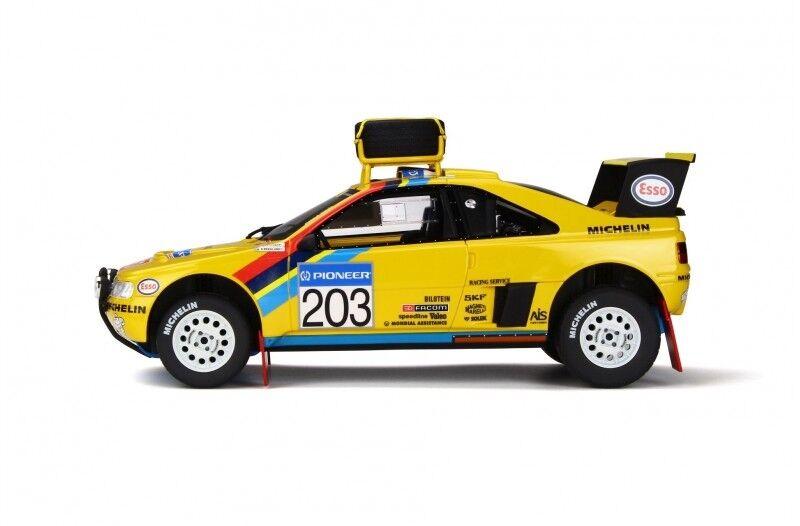 PEUGEOT 405 T16 Grand Raid Paris Dakar 1990 Winner Vatanen Otto NEU NEW 1 18
