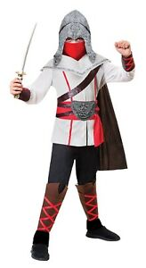 Boys-Assassin-Ninja-Halloween-Samurai-Book-Day-Fancy-Dress-Costume-Outfit-5-14yr