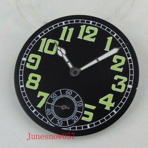 35MM-Sterile-Watch-Dial-Luminous-Pointer-Fit-For-ETA-6498-ST3620-Movement