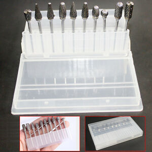 10-Pcs-Tungsten-Carbide-Dental-Acrylic-Bur-Drill-Coarse-Cutter-2-35mm-Shank