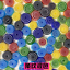 28g Mixed Stained Glass Millefiori Beads Slices for DIY Mosaic Sheet Tiles