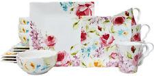 222 Fifth Floral Fete 16 Piece Dinnerware Set