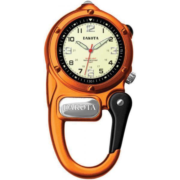 goldlogio Dakota DK3805 Mini Clip Microlight Watch orange