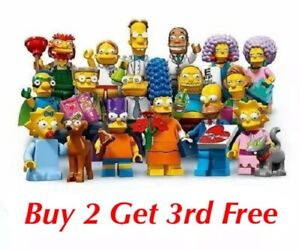LEGO-SIMPSONS-SERIES-2-71009-PICK-YOUR-FIGURE-BUY-2-GET-1-FREE-ADD-3-TO-BASKET