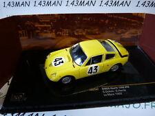macchina 1/43 IXO 24 ORE del Mans 1962 : Simca abarth 1300 #43 Dubois/Harris