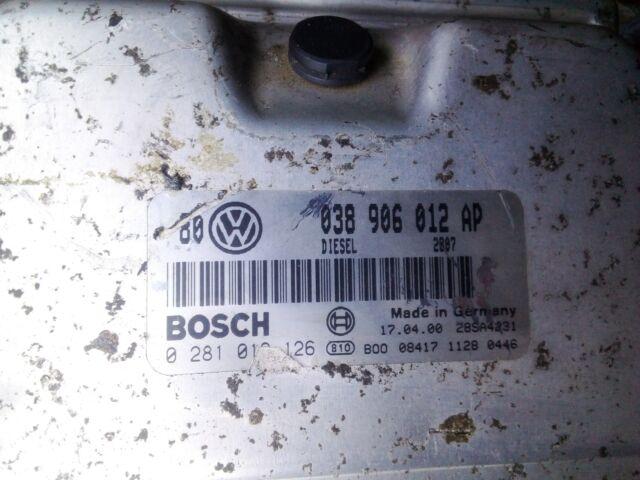 038906012AP Centralita motor uce VOLKSWAGEN GOLF IV BERLINA 1.9 TDI (110 174302