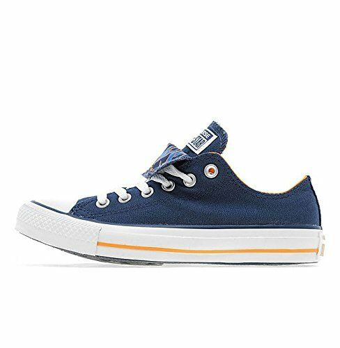Bianco All Blu Beef Converse Tongue Fiore Star Double n0qpwCPf