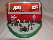 Lionel 6-37942 Merry Christmas Hobo Hotel O-27 MIB New 2012 Illuminated Campfire