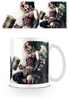 CERAMIC DC COMICS COFFEE MUG JOKER /& HAMMER HARLEY QUINN CUP