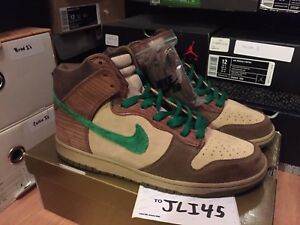 official photos 666bf d484c Image is loading Nike-SB-Dunk-Hi-Deck-Size-11-5-
