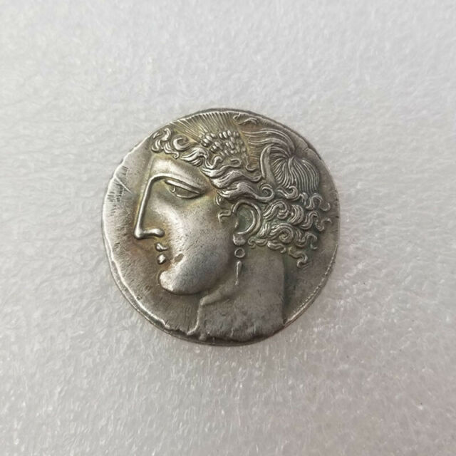 Silver Plated Ancient Alexander III The Great Greek Coin Rare