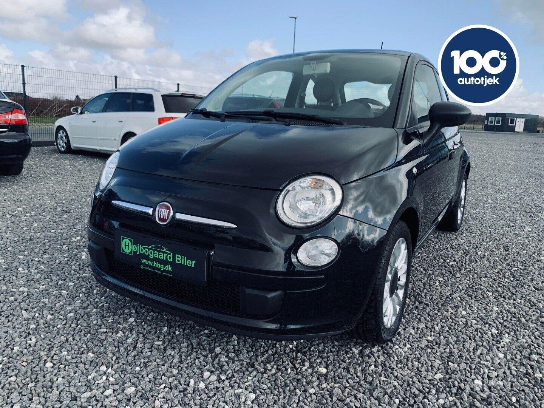 Fiat 500 1,2 Wind 3d - 63.800 kr.