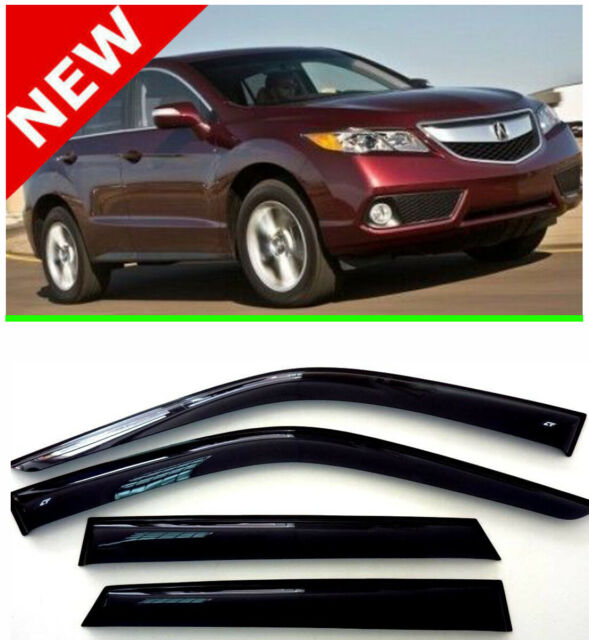 For Acura RDX Window Visor Rain Guard Shade Wind Sun