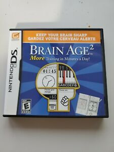 Brain Age 2: More Training in Minutes a Day Nintendo DS Game, Complete