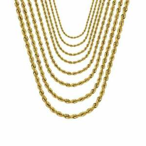 Solid-14K-Gold-Rope-Chain-Necklace-Rope-Necklace-Statement-Necklace
