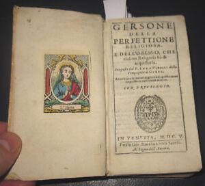 1605-Luca-Pinelli-Gersone-della-perfettione-religiosa-Santino-Compagnia-Gesu