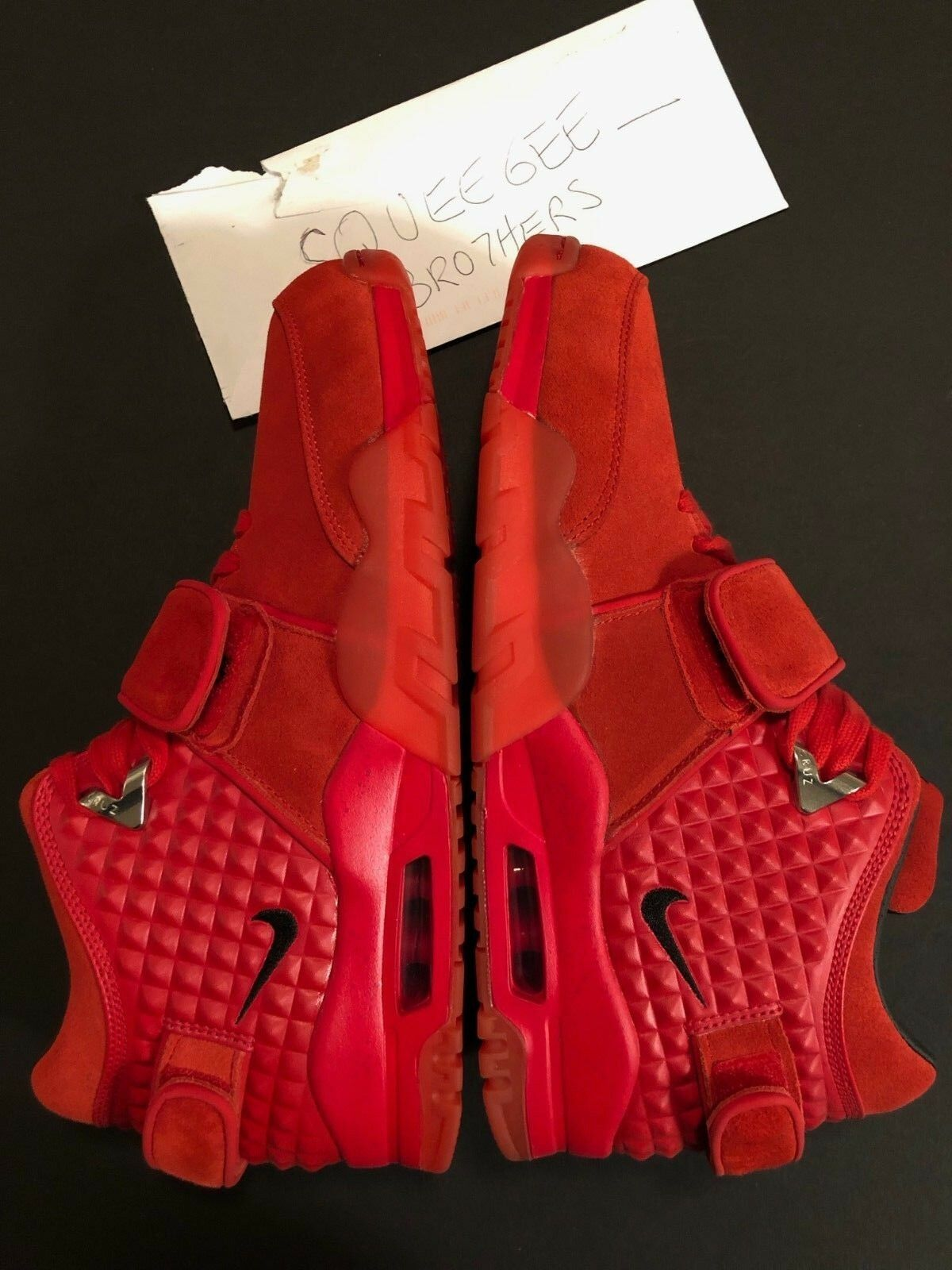100% Authentic Nike Air Trainer V. Cruz University Red Mens US Size 12 October