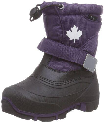 Indigo Canadians Lila 467-185 Kinder Mädchen Winterstiefel TEX Fleece Futter NEU